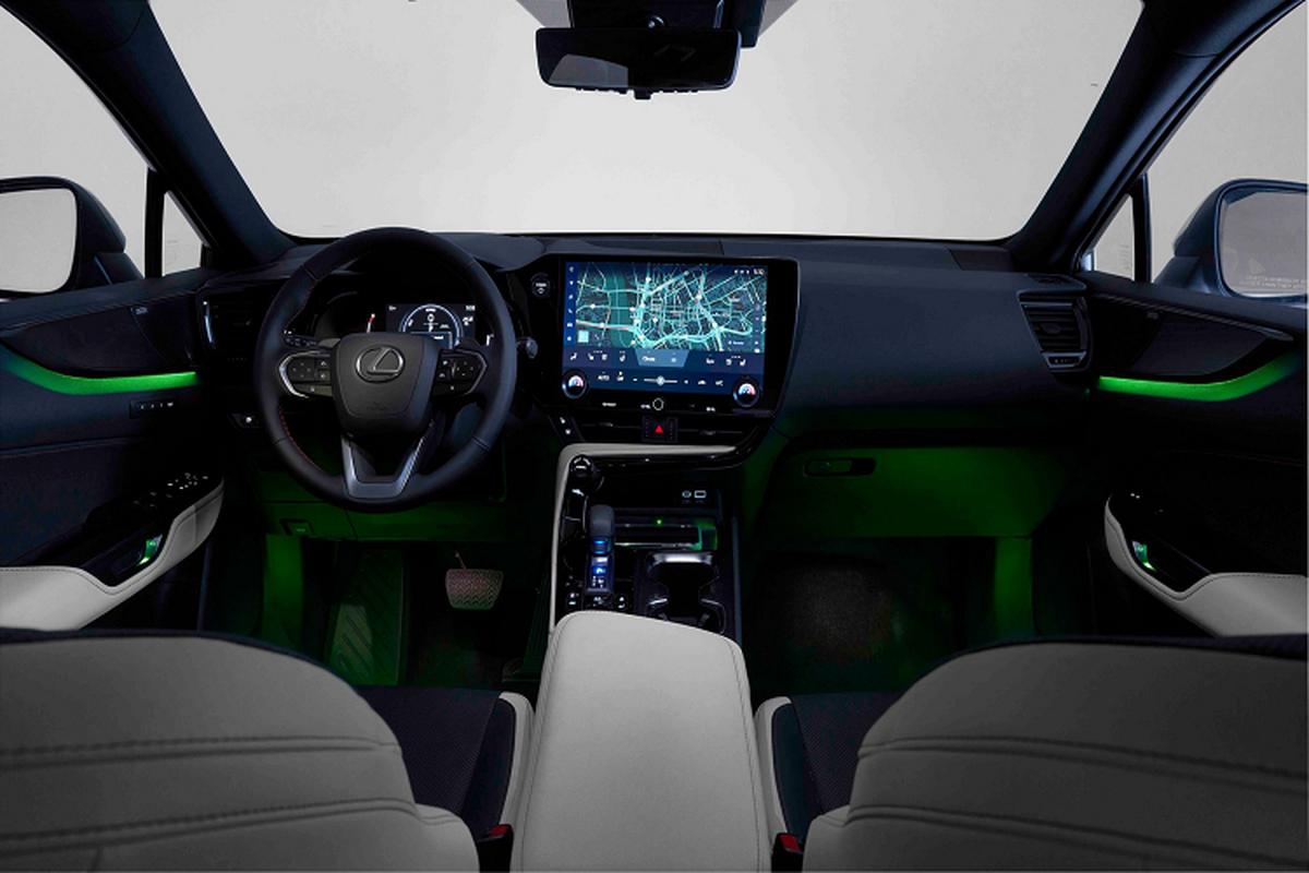 Lexus NX 2022 ra mat, them tuy chon dong co hybrid cam sac-Hinh-7