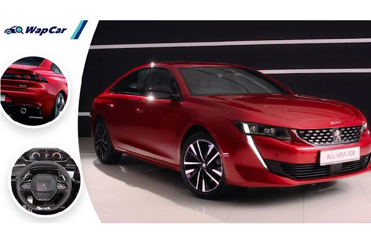 Peugeot 508 2021 tu 2,7 ty dong tai Singapore,