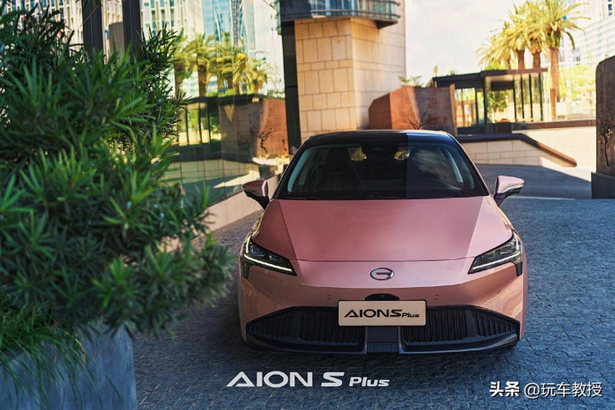 GAC Aion S Plus cua Trung Quoc - chiec sedan dien ket noi 5G-Hinh-9