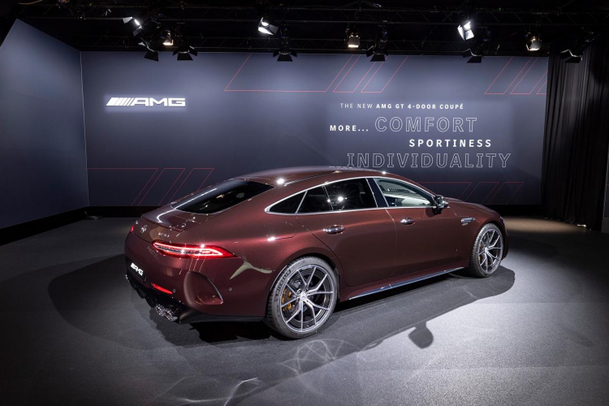 Mercedes-AMG GT 4-Door Coupe 2022,