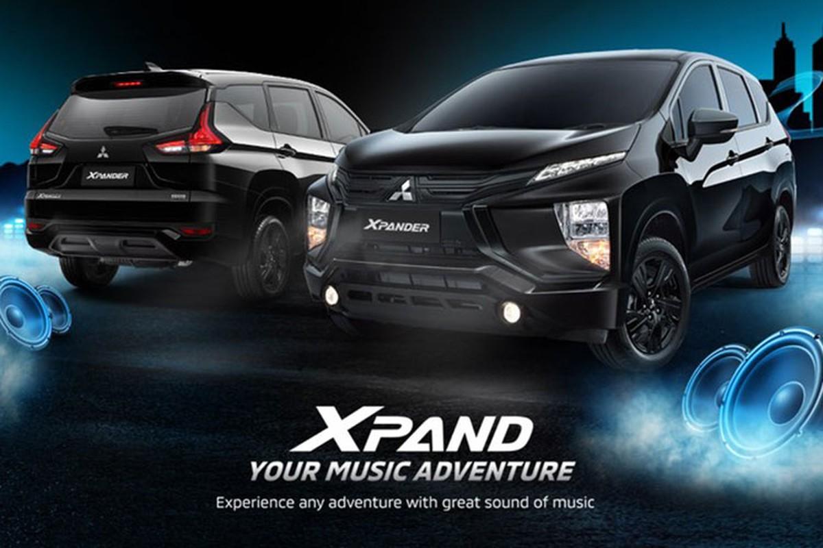 Mitsubishi Xpander va Cross 2021 dac biet, chi tu 443 trieu dong