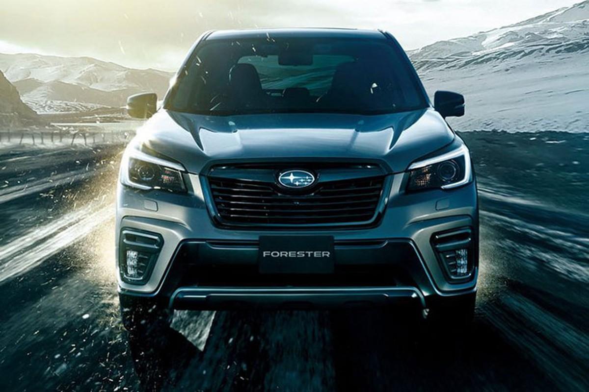 Subaru Forester 2022 se doi moi va tiet kiem nhien lieu