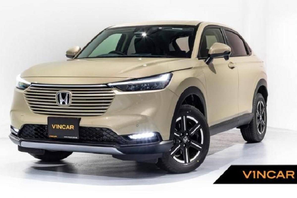 Honda HR-V 2021 ra mat Dong Nam A, cho ngay ve Viet Nam