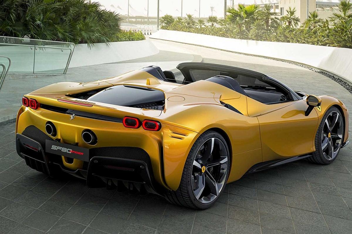 """Ferrari SF90 Spider """"ha canh"""" Thai Lan, chao ban hon 32 ty dong-Hinh-6"""