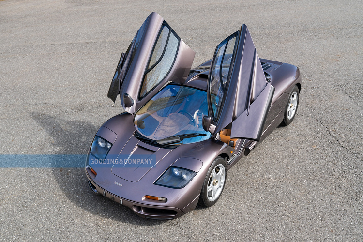 Chiec McLaren F1 doi 1995 nay co the ban duoc 345 ty dong