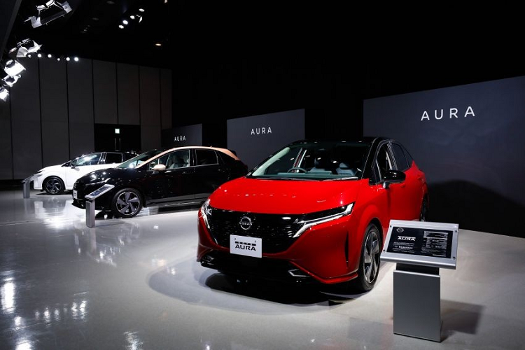 Nissan Note Aura 2022 will be released to the market in Vietnam-Hinh-8