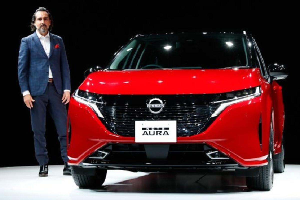 Nissan Note Aura 2022 sap ra mat tai thi truong Viet Nam