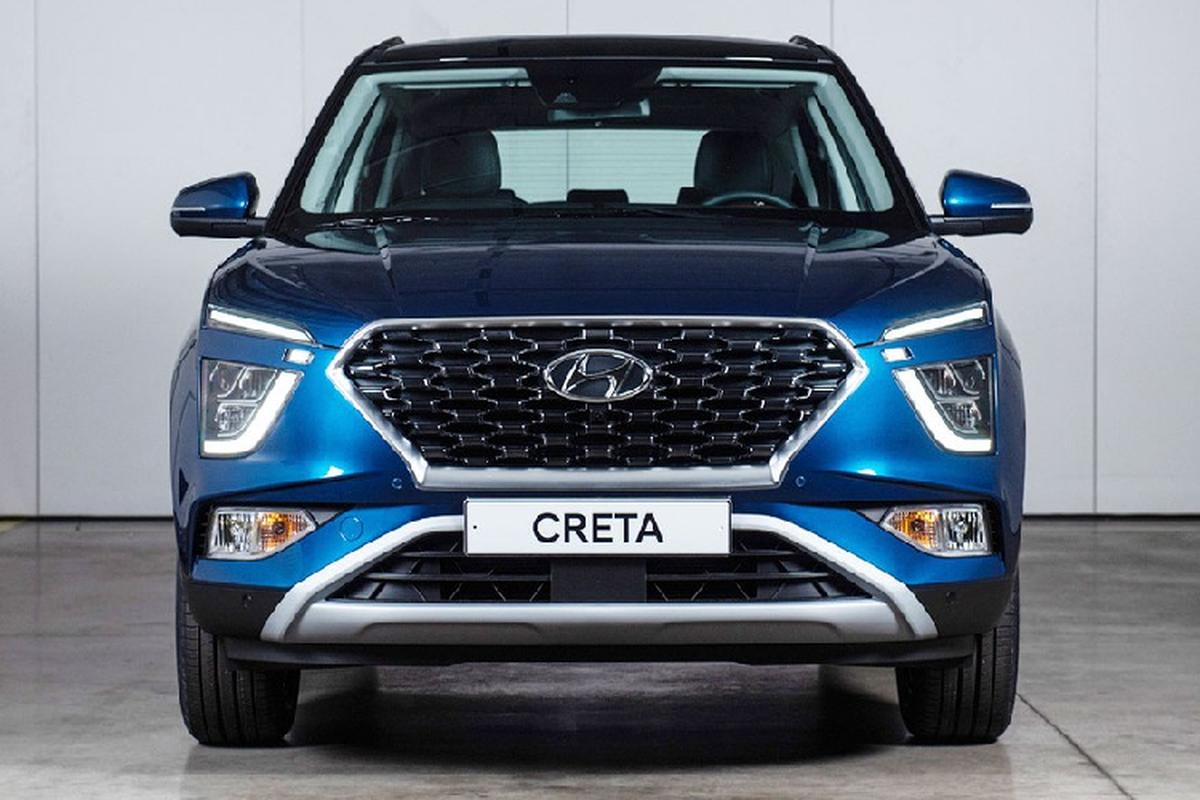 Hyundai Creta 2021 price list, design manual and advanced equipment-Hinh-8