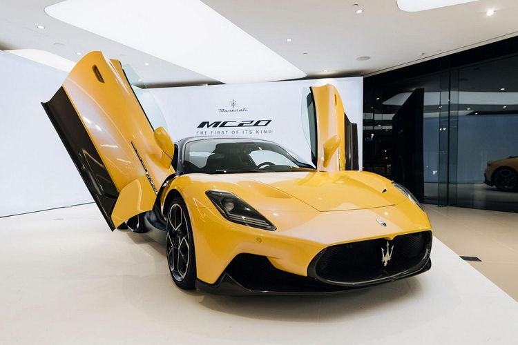 Maserati MC20 cars can be purchased in Vietnam