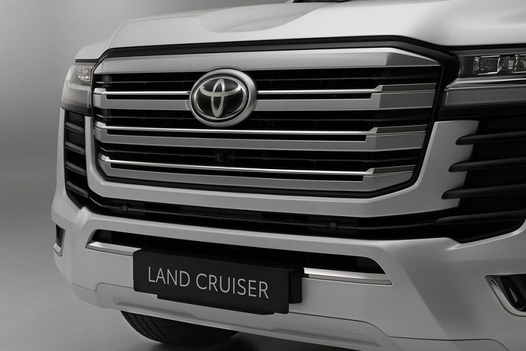 Toyota Land Cruiser 2022, the king is out to join the Dubai police station-Hinh-7