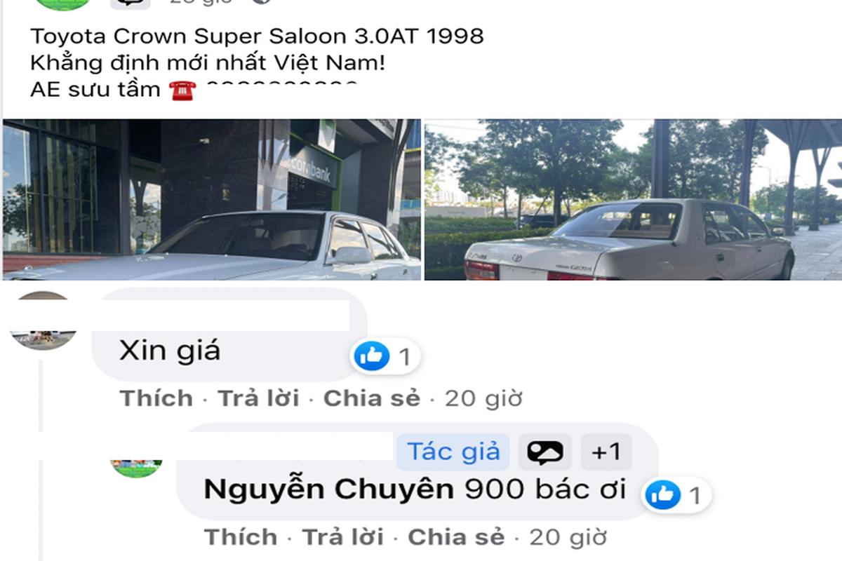 "Toyota Crown ""Bo truong"" chay 20 nam, ban 900 trieu tai Viet Nam-Hinh-2"