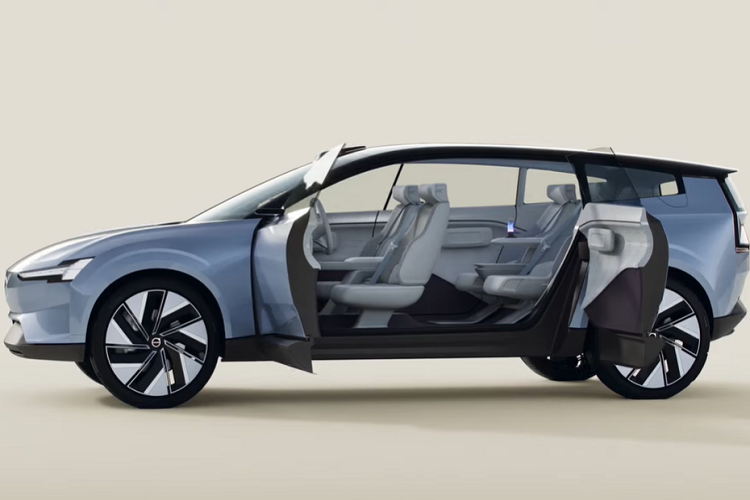 Volvo Recharge Concept - tuong lai oto dien cua hang xe Thuy Dien-Hinh-5