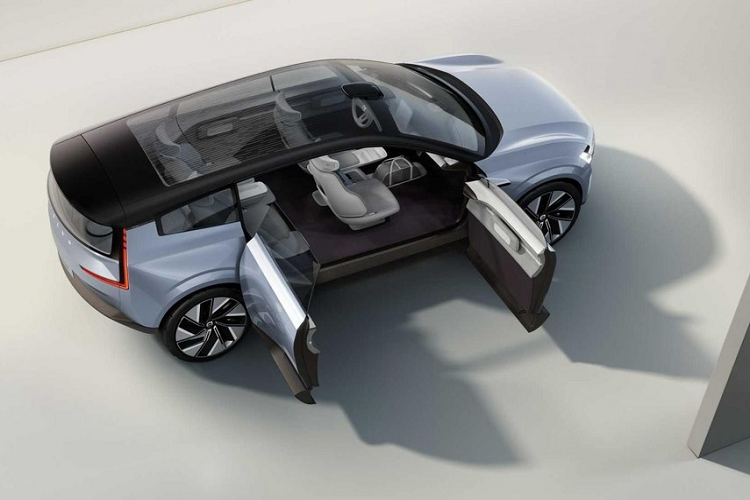 Volvo Recharge Concept - tuong lai oto dien cua hang xe Thuy Dien-Hinh-8