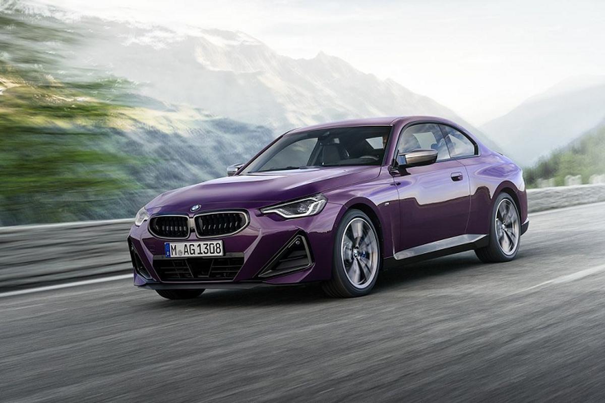BMW 2-Series Coupe 2022 thiet ke lot xac, tu 836 trieu dong