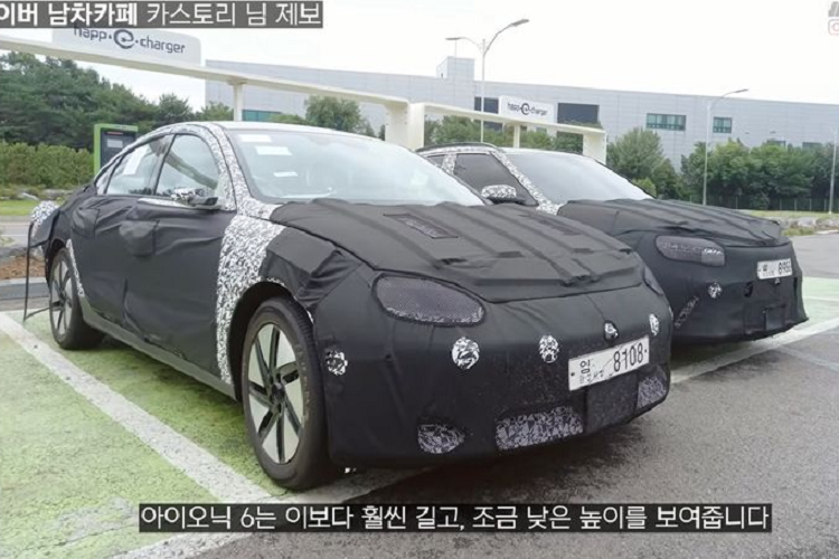 Hyundai Ioniq 6 bo guong chieu hau, lo dien