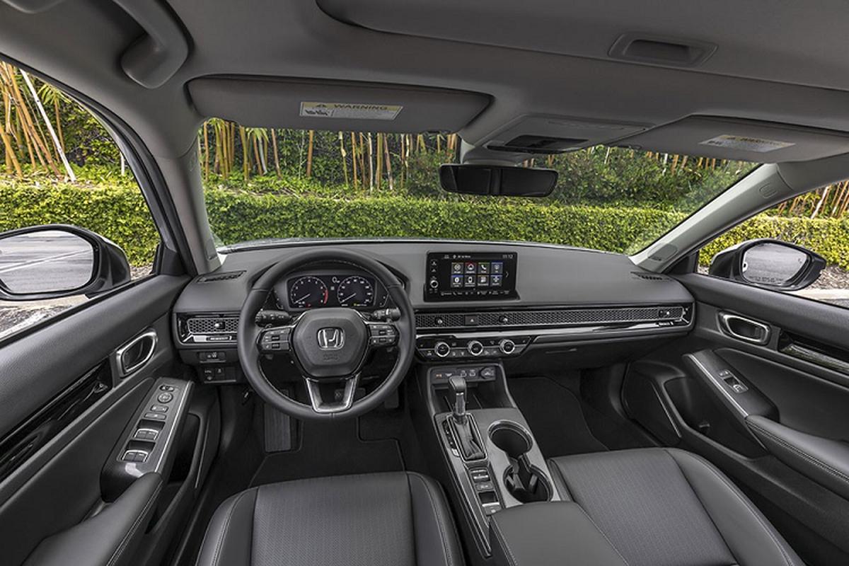 Honda Civic 2022 chot lich ra mat Thai Lan, sap ve Viet Nam-Hinh-6