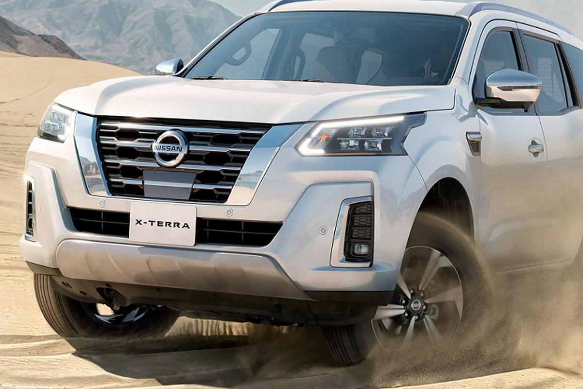 Nissan Terra 2021 chot lich tai Thai Lan, se som ve Viet Nam-Hinh-2