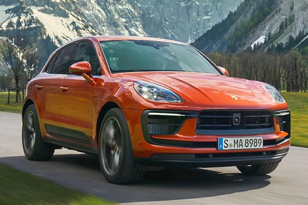 """Porsche Macan 2022 tu 1,26 ty dong """"vang"""" bien the Turbo"""