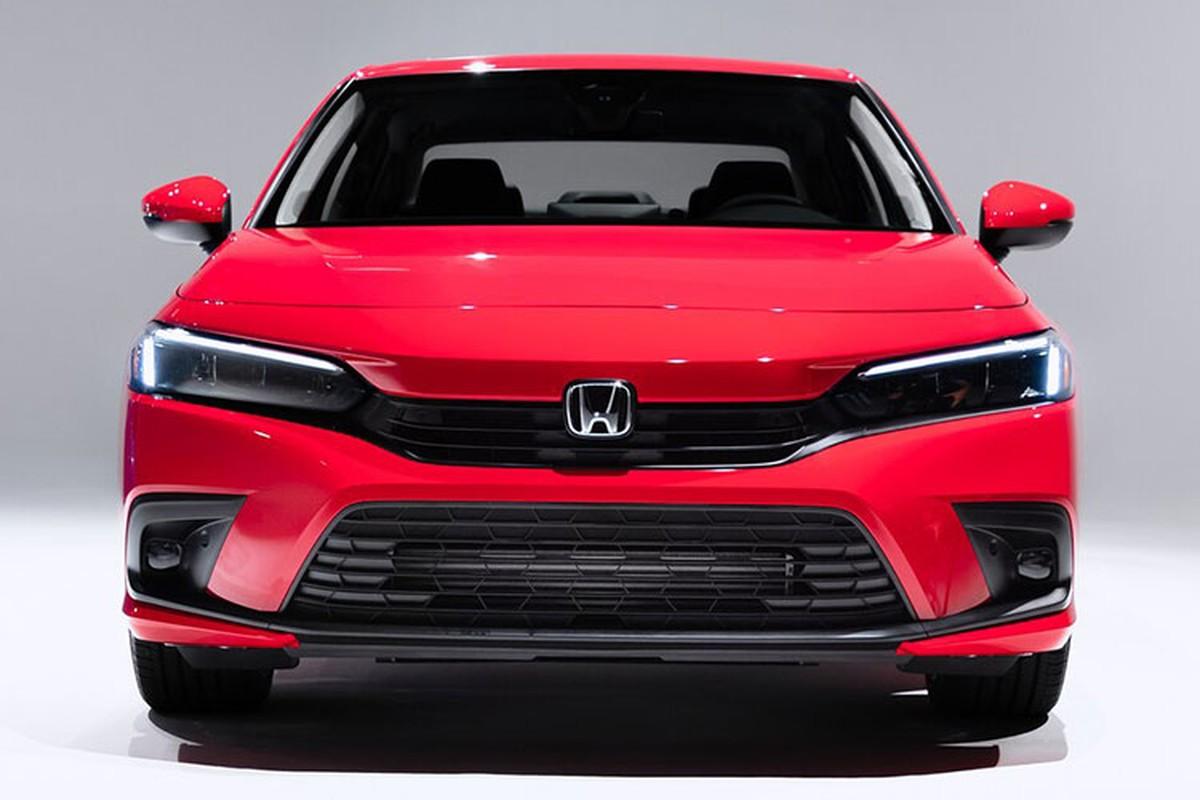 Honda Civic 2022 chot lich ra mat Thai Lan, sap ve Viet Nam