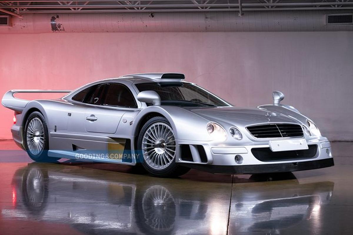 Mercedes-Benz CLK GTR doi 1998 nay chao ban toi 230 ty dong
