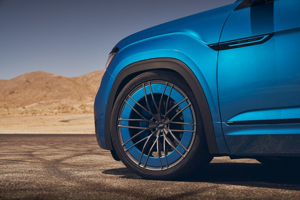 """Volkswagen """"nhet"""" dong co cua Goft R vao chiec Atlas Cross Sport-Hinh-5"""