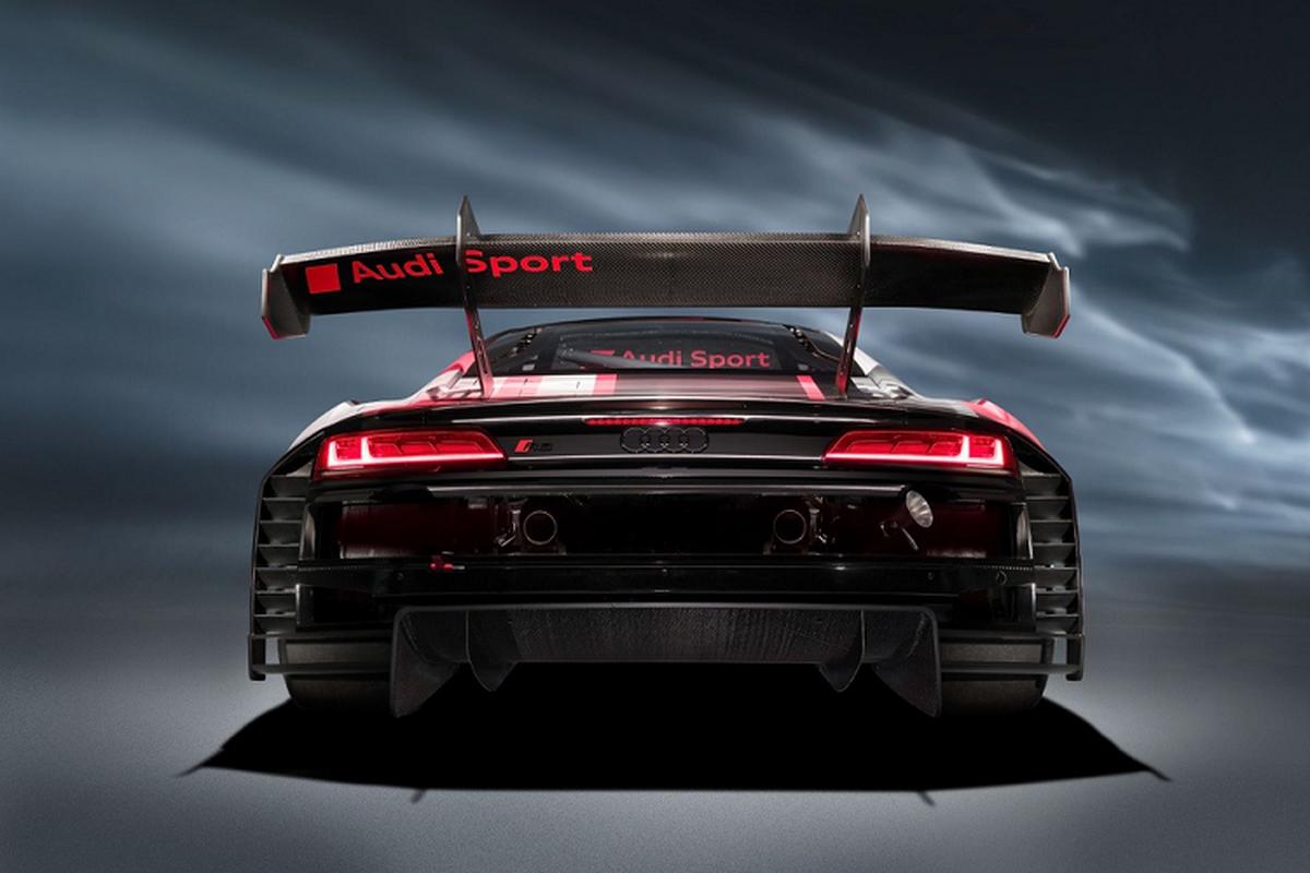 Sieu xe Audi R8 LMS GT3 Evo II 2022 chot gia hon 11,6 ty dong-Hinh-3
