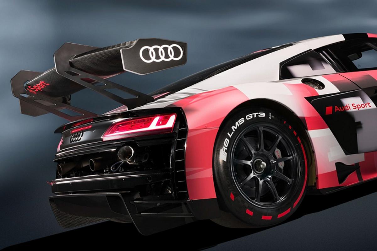 Sieu xe Audi R8 LMS GT3 Evo II 2022 chot gia hon 11,6 ty dong-Hinh-4