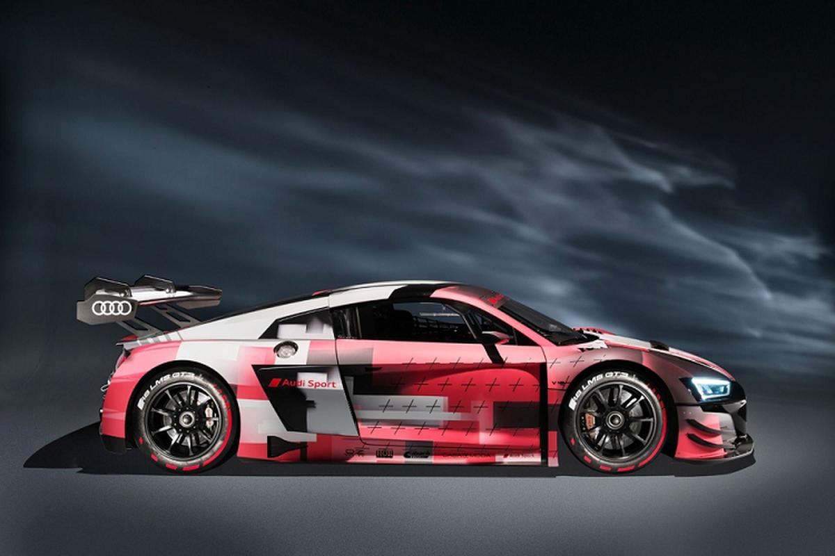 Sieu xe Audi R8 LMS GT3 Evo II 2022 chot gia hon 11,6 ty dong-Hinh-6