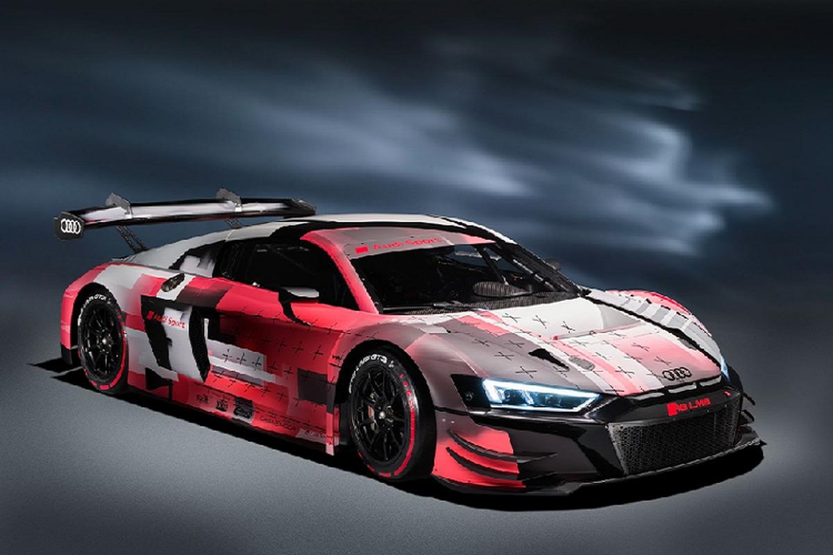 Sieu xe Audi R8 LMS GT3 Evo II 2022 chot gia hon 11,6 ty dong