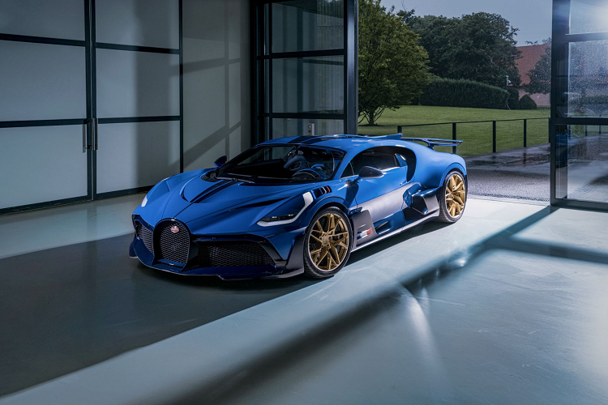 Chiec Bugatti Divo hon 113 ty dong cuoi cung sau 3 nam ra mat