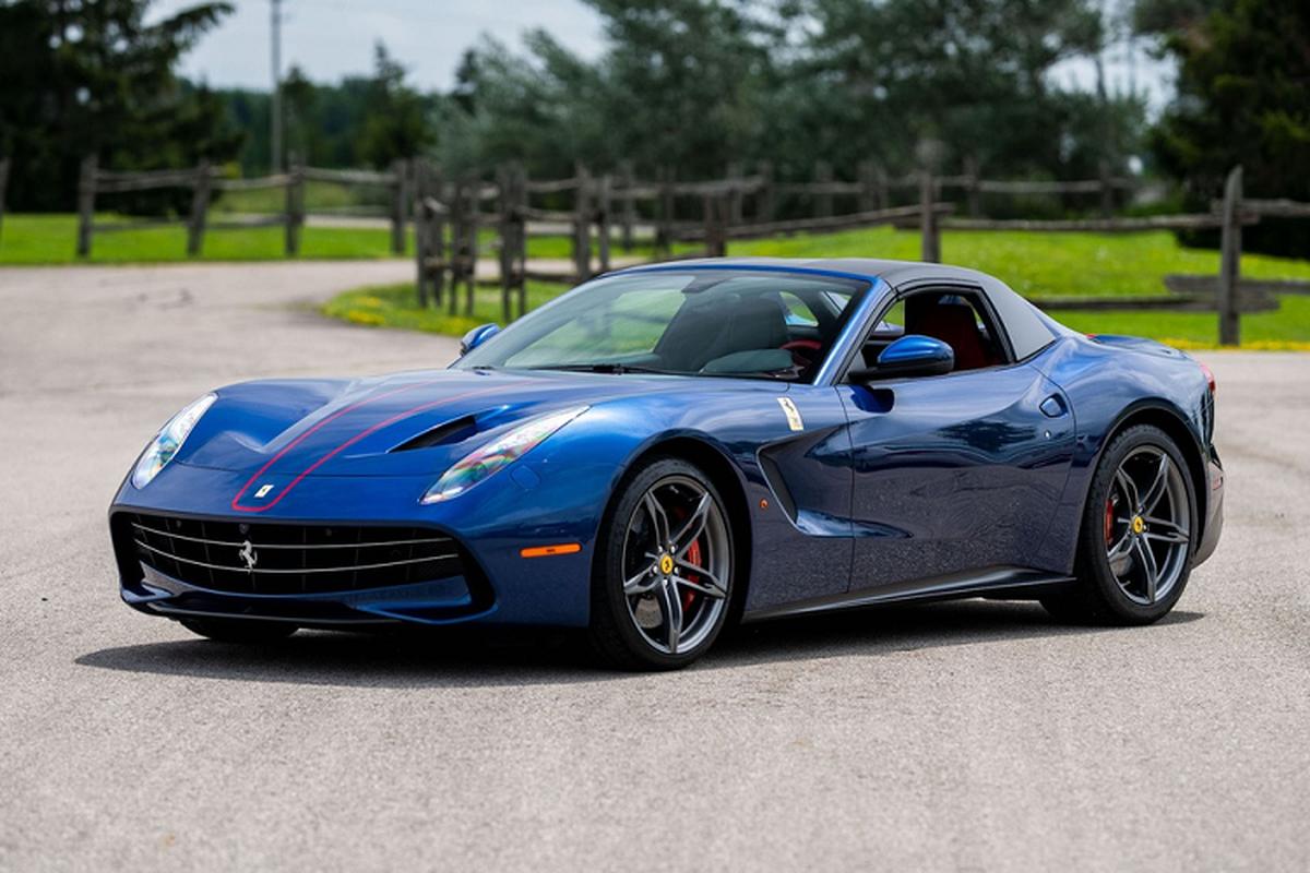 Ferrari F60 America dinh gia hon 124 ty dong cho dai gia My