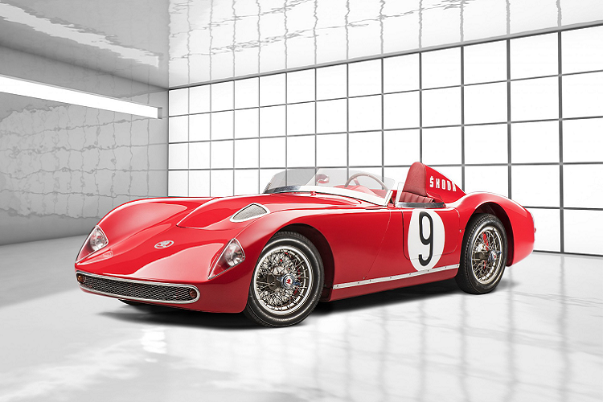 "Skoda 1100 OHC 1957 – huyen thoai ""lo hen"" 24 Hours of Le Mans"