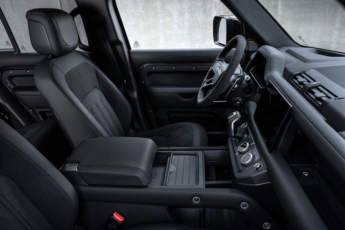 Danh gia Land Rover Defender V8 2022, tu hon 2 ty dong-Hinh-6