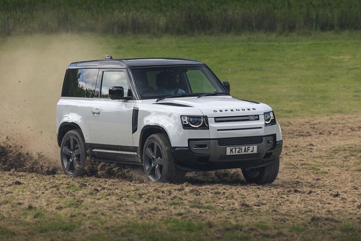 Danh gia Land Rover Defender V8 2022, tu hon 2 ty dong