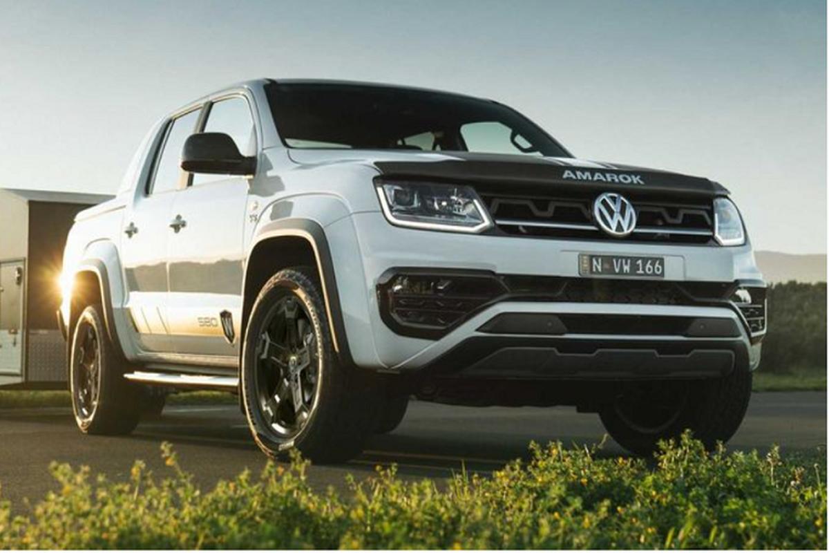 "Volkswagen Amarok 580X moi - ban tai cho dan off-road ""chuyen sau"""
