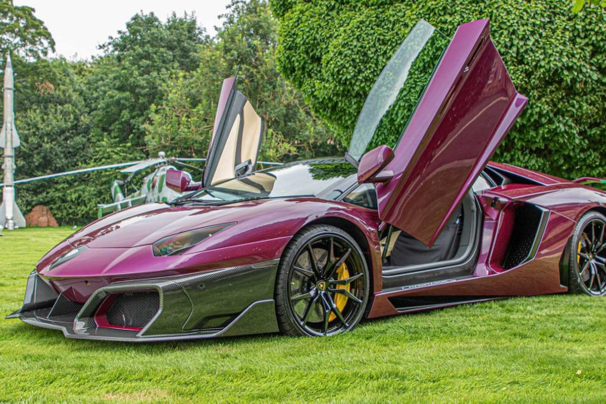 Ngam Lamborghini Aventador voi goi do gioi han 35.420 USD