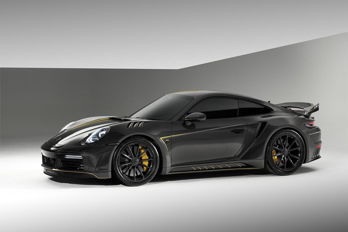 """Porsche 992 """"lot xac"""" hoan toan voi goi full carbon gan 3 ty dong-Hinh-2"""