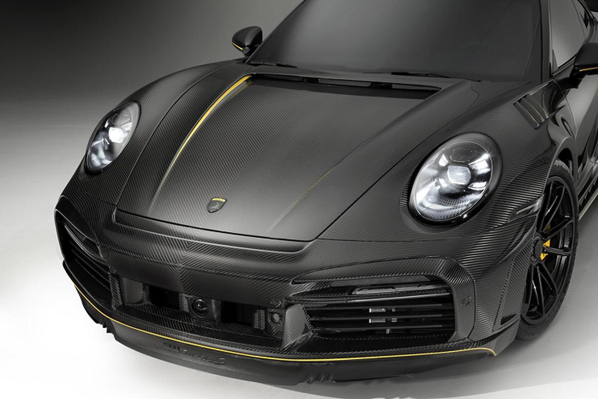 """Porsche 992 """"lot xac"""" hoan toan voi goi full carbon gan 3 ty dong-Hinh-3"""