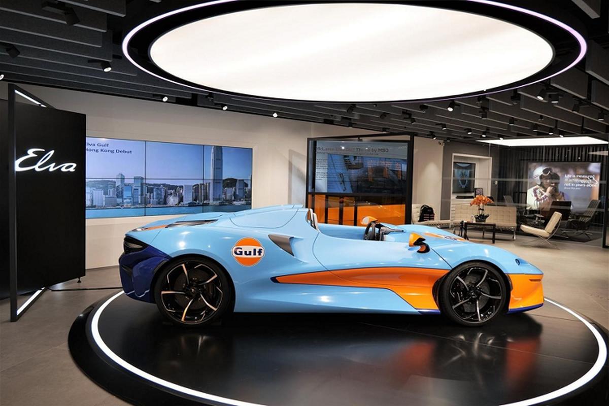 McLaren Elva chinh hang