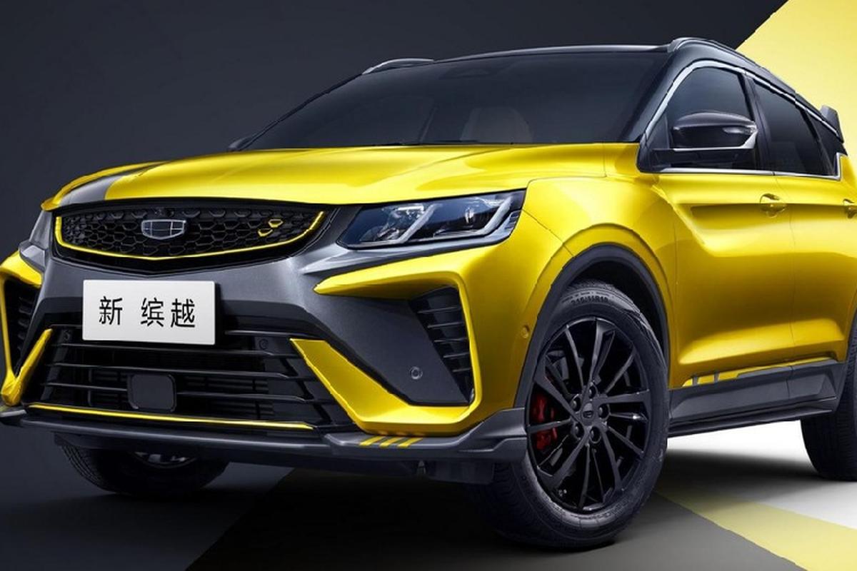 Geely he lo SUV Binyue Pro 2021