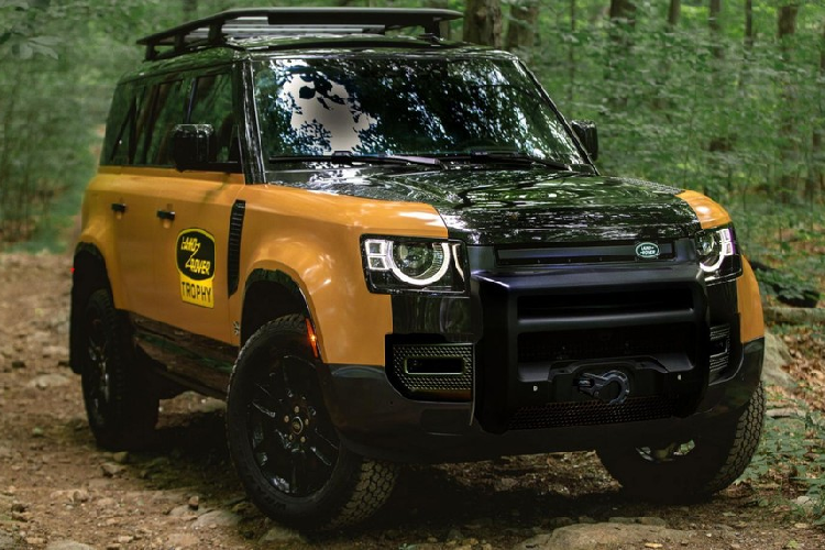 Land Rover Defender Trophy Edition - SUV off-road hon 6 ty dong