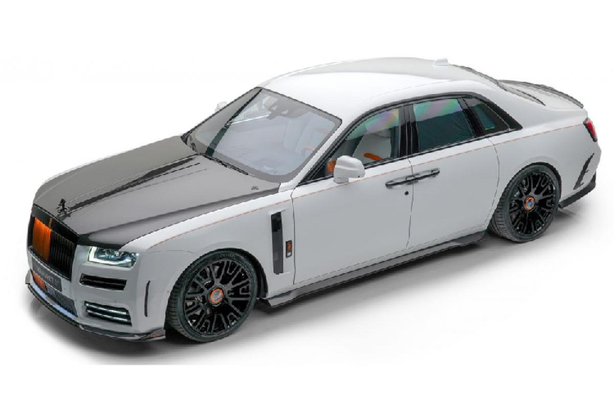 Rolls-Royce Ghost V12 Mansory - xe sieu sang manh 710 ma luc