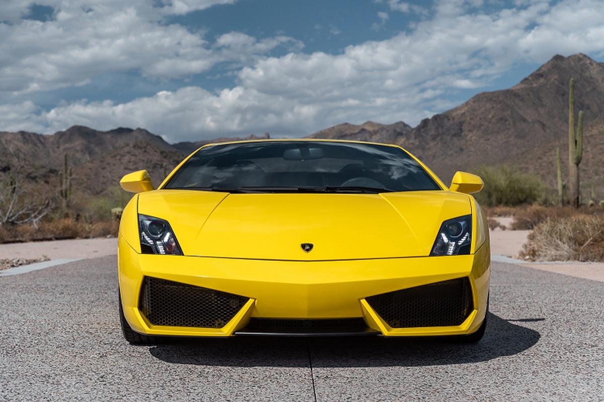 Sieu xe Lamborghini Gallardo so san 240.000 USD, dat hon Huracan-Hinh-2