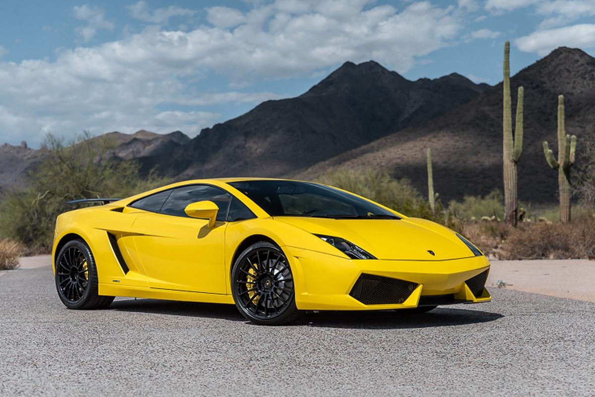 Sieu xe Lamborghini Gallardo so san 240.000 USD, dat hon Huracan-Hinh-4