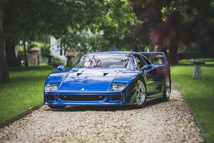 Ferrari F40 noi tieng nhat Anh quoc dat gia ky luc - 31,9 ty dong-Hinh-9