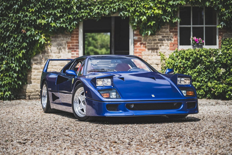 Ferrari F40 noi tieng nhat Anh quoc dat gia ky luc - 31,9 ty dong
