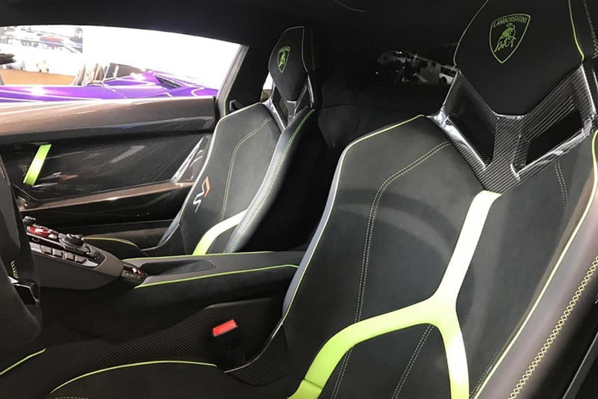 Lamborghini Aventador SVJ Verde Ermes hon 20 ty o Sai Gon-Hinh-5