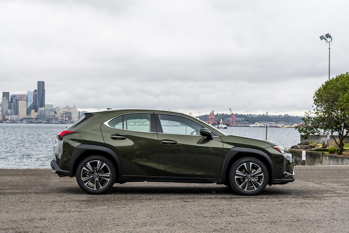 Lexus UX 2022 nang cap, them mau ca tinh