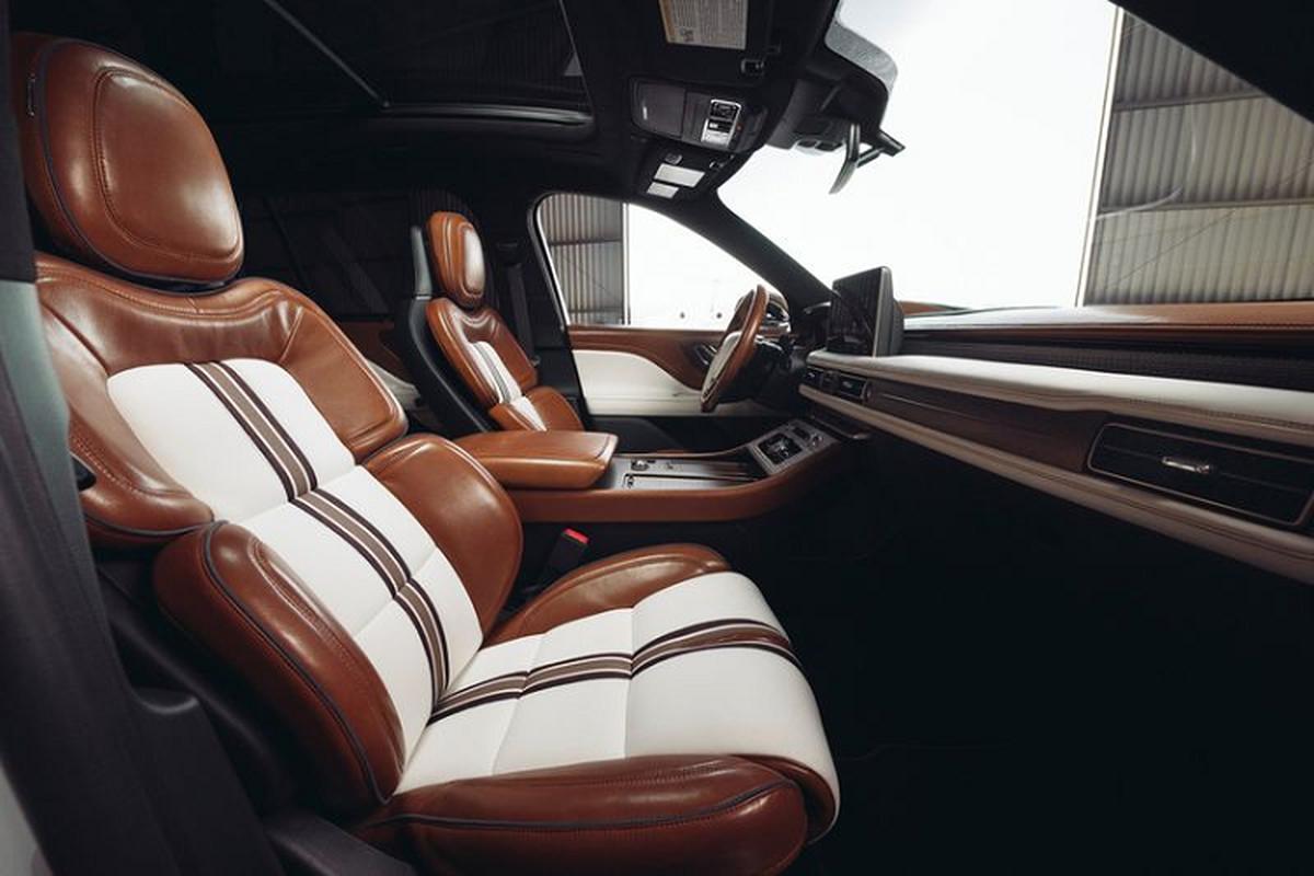 Lincoln Aviator Shinola - SUV sieu xa xi chinh thuc