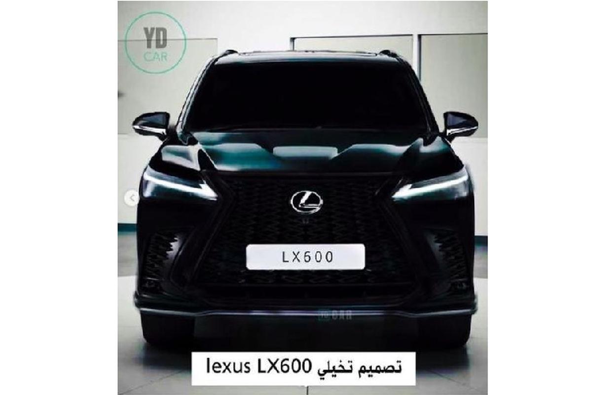 """Lexus LX600 2022 lo dien - """"chuyen co mat dat"""" cho gioi nha giau-Hinh-2"""